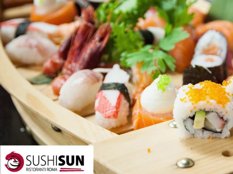 Sushi Sun Tiburtina - Menù All You Can Eat al 40% di sconto - TERMINATO